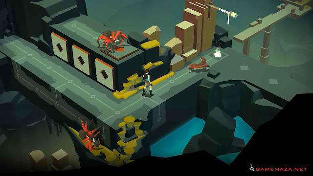 Lara Croft Go Gameplay Screenshot 1