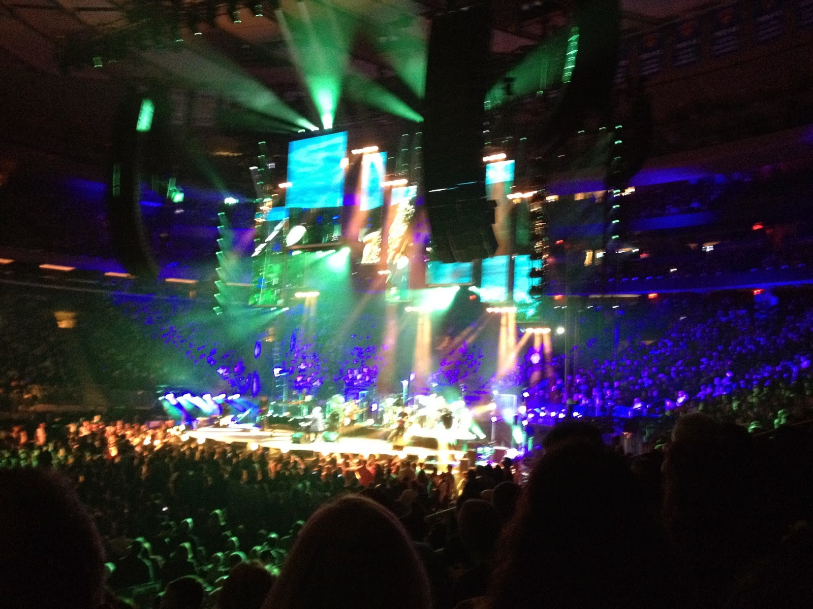 To Forget Life For A While As Billy Joel Rocks Madison Square Garden