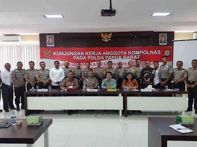 Kompolnas Lakukan Kunjungan Kerja ke Polda Papua Barat