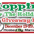 Hoppin' Holidays! Win a Chili's gift card and iTunes!