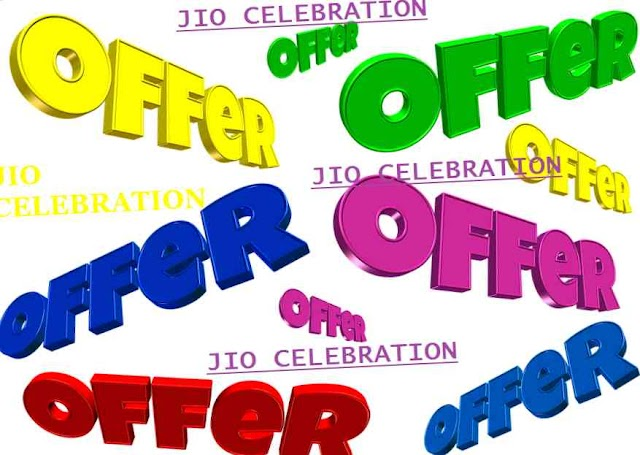 "Free 2 GB jio celebration pack holi offer upto ""23"" march 2019"