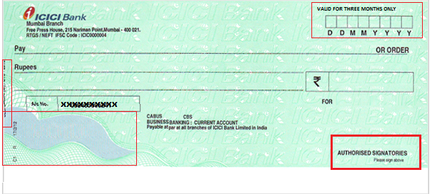 how to cancel post-dated cheques
