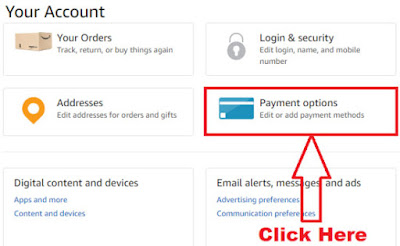 how to delete credit card details from amazon account