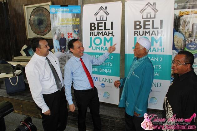 Beli Rumah, Jom Umrah Bersama IJM Land dan Andalusia Travel & Tours