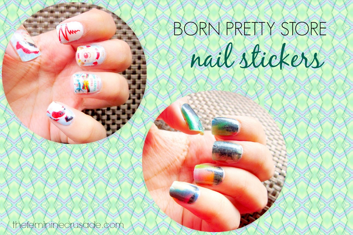 Born Pretty Store Glow-in-Dark Nail Stickers