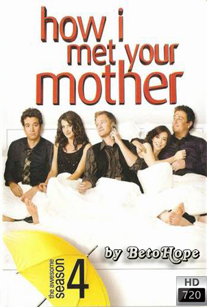 How I Met Your Mother Temporada 4 [720p] [2008] [Ingles Subtitulado] HD 1080P  [Google Drive] GloboTV