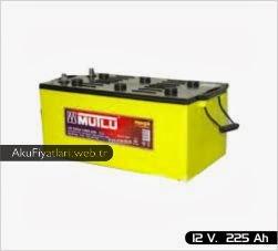 mutlu akü süper ağır hizmet serisi 12 volt 225 amper