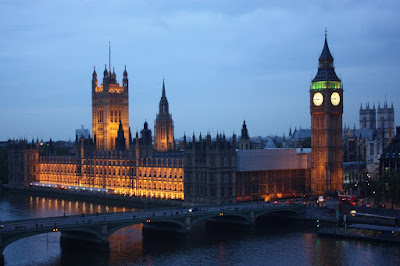 Вестминстер - здание британского Парламента