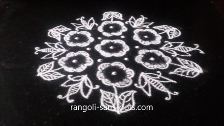 Ammcobus Pongal Kolam With Dots Wallpapers