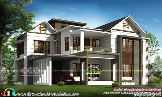 3175 square feet 4 bedroom modern home architecture