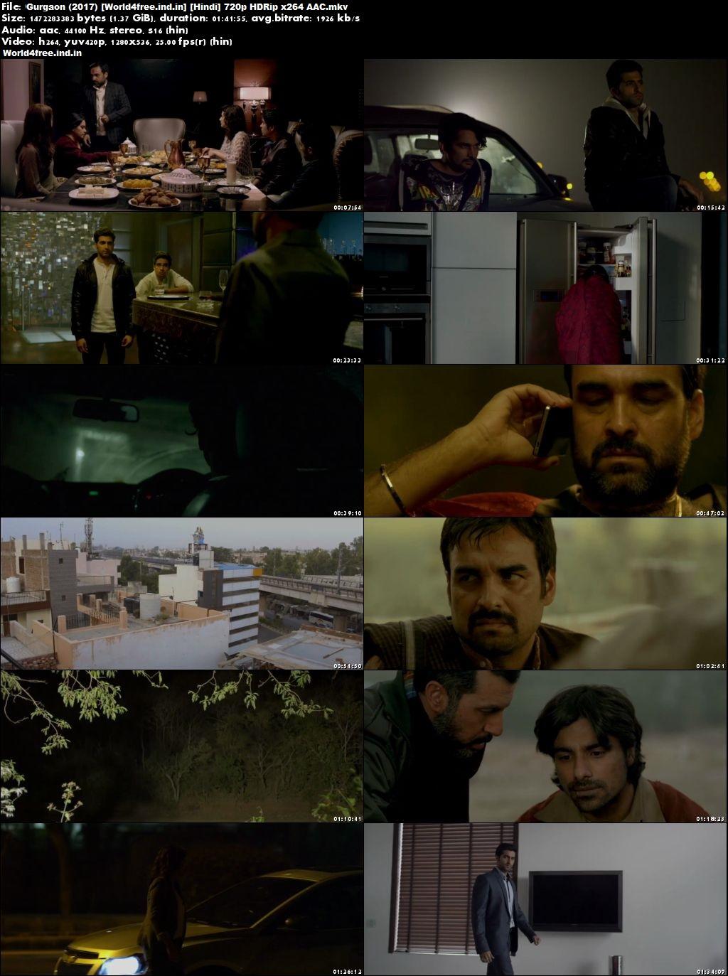 Gurgaon 2017 worldfree4u Full HDRip 720p Hindi Movie Download