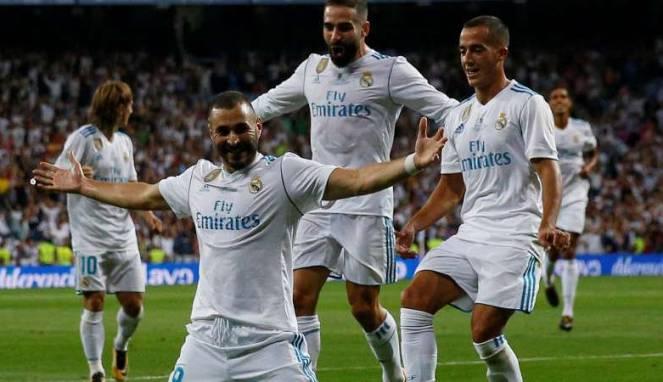 Real Madrid Menjadi Juara Piala Super Eropa Setelah Taklukan Barcelona 2-0