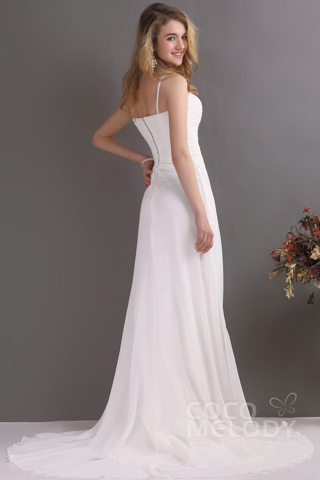 cocomelodygown: Straightforward wedding dress can build a good ...