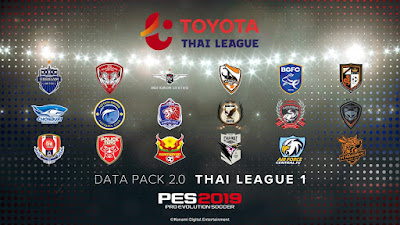 PES 2019 Official Datapack 2.00