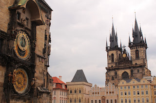 Church of Mother of God in front of Tyn, Prague Astronomical Clock