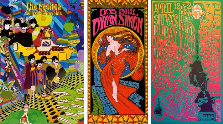 60s concert posters