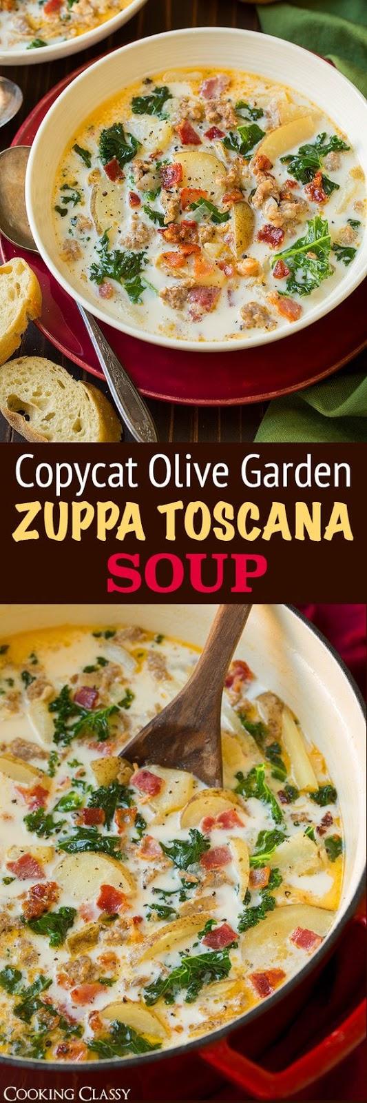 Zuppa Toscana Soup Recipe