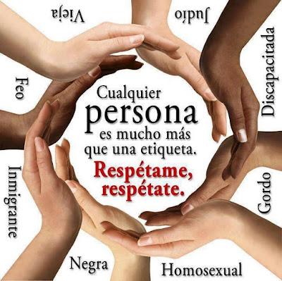 """""""Respetame, respetate"""" - imagen"""