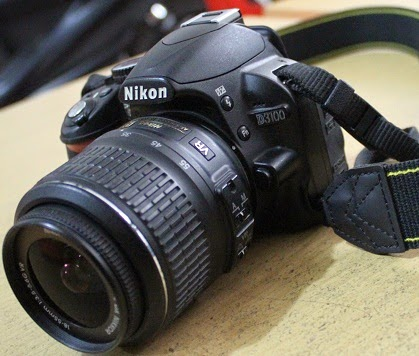 harga kamera bekas malang nikon d3100