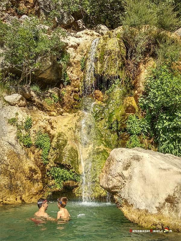Baño en el río Guadalquivir, Cazorla