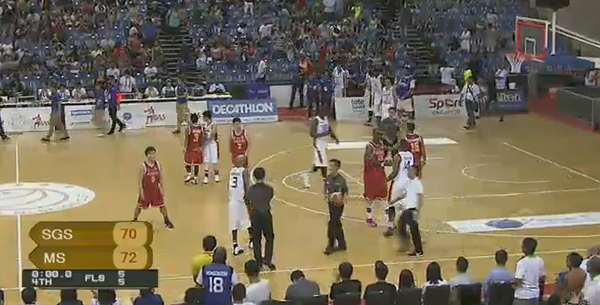 Mighty Sports PHL def. Singapore Slingers, 72-70 (REPLAY VIDEO) Merlion Cup 2016