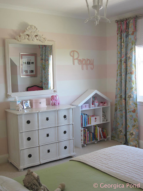 Bondville Poppy S Pink And Green Bedroom