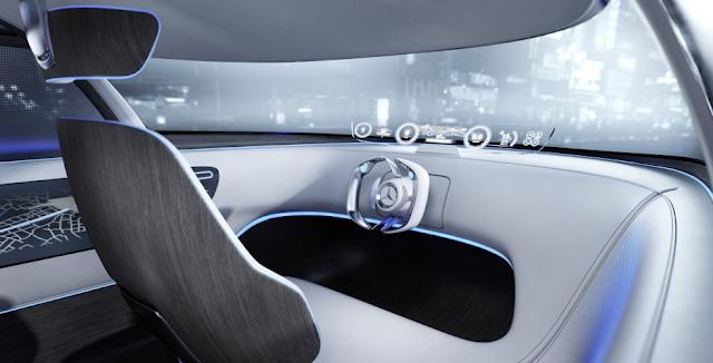 Mercedes-Benz Vision Tokyo Performance Interior