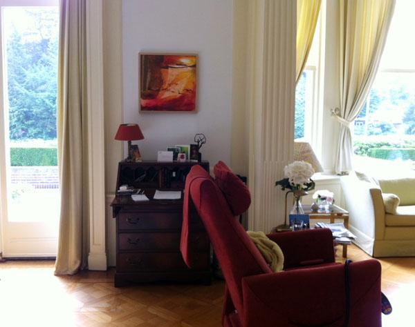 Tineke 39 s schetsboek schilderij en omgeving - Schilderij in de kamer ...
