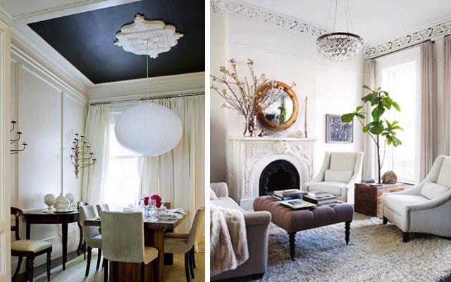 Marzua rosetones y molduras cl sicas para casas modernas - Molduras de escayola modernas ...