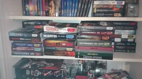 Blitzer Csaba Star Wars könyvek
