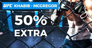 Paston promocion UFC combate Khabib vs McGregor 7 octubre