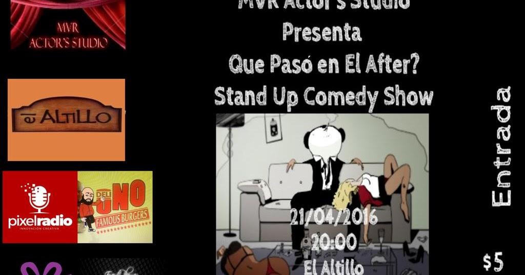 Sungard Exhibition Stand Up Comedy : Mvr actor s studio de actores temporada shows