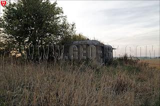Первый ДОТ у Кудиновичей. Орудийно-пулемётный полукапонир