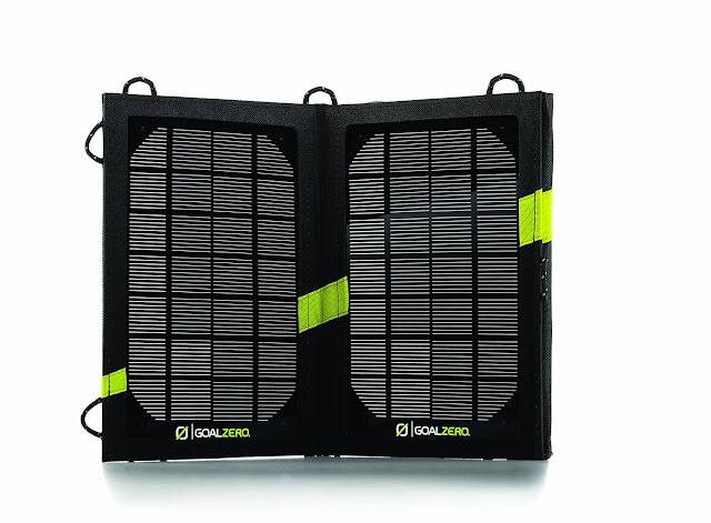 Caricabatteria solare da viaggio