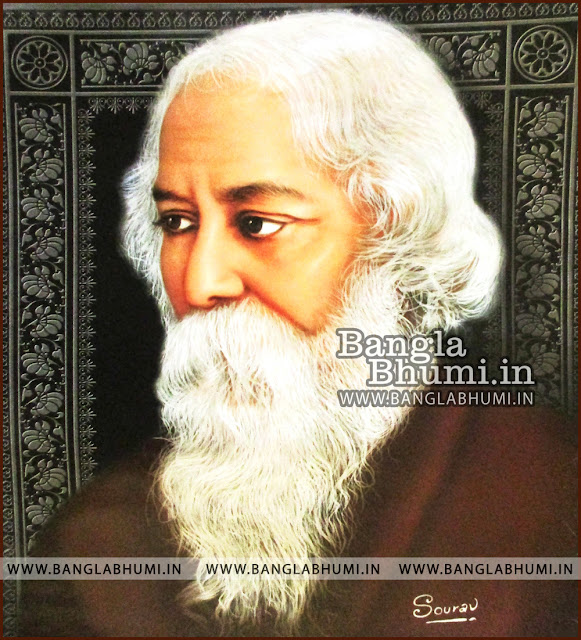Rabindranath Tagore Indian Legends HD Poster Wallpaper Free