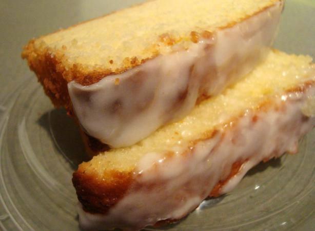 Lemon Pound Cake Tube Pan