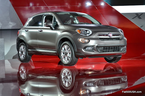 Fiat 500X in Bronzo Magnetico Opaco