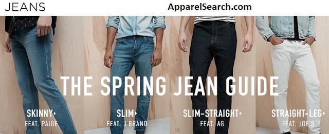 Men's Jeans Guide