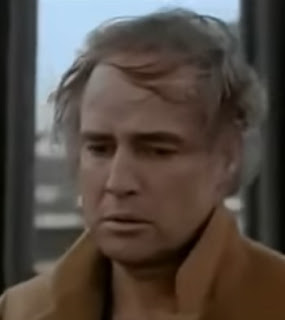 Marlon Brando in a scene from Last Tango in Paris
