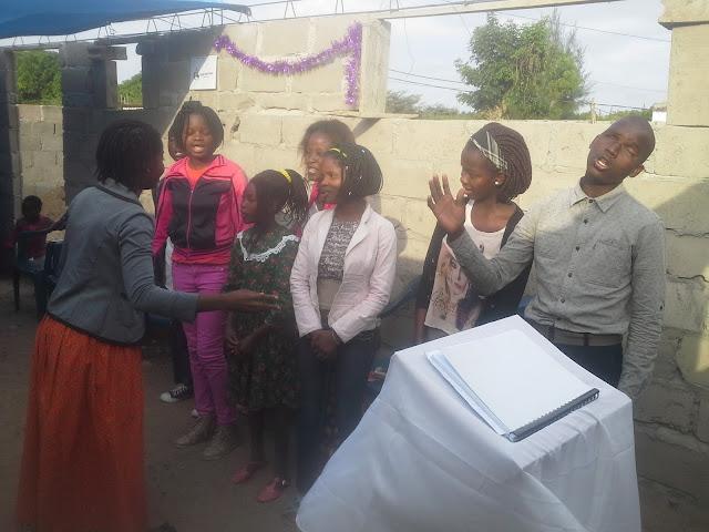 Eternal Love Church choir leading worship