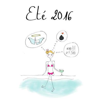 agathe, albane devouge, dessin, été 2016, france, humour, illustration, illustratrice, la série continue, le monde est fou, terrorisme, tristesse, vacances d'été,
