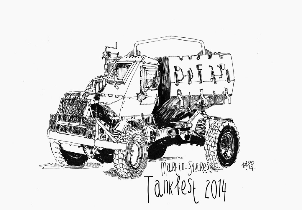 Martin Squires Automotive Illustration: July 2014