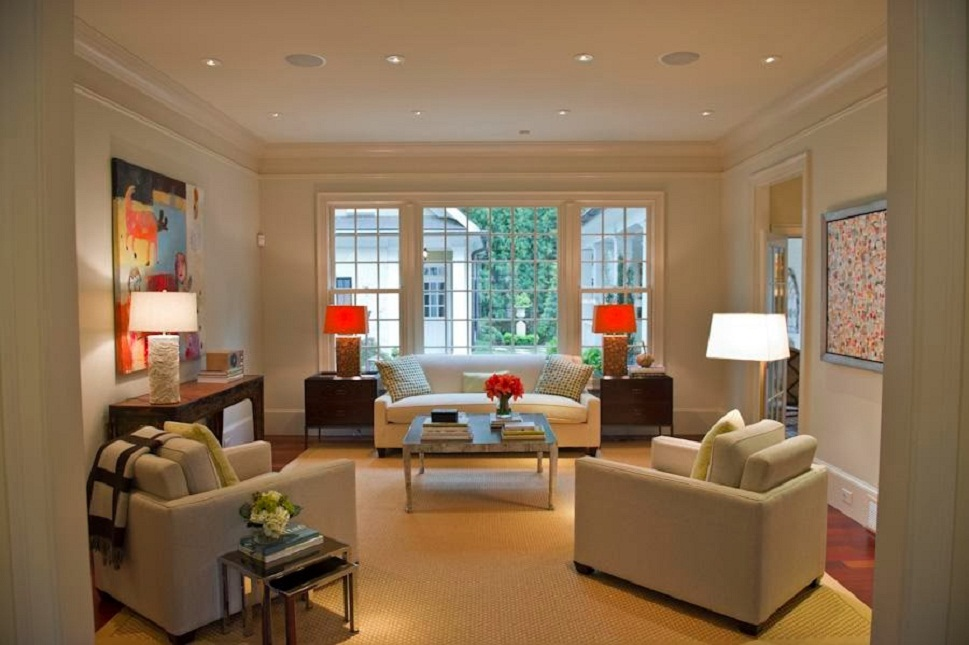 feng shui living room with lighting design ideas
