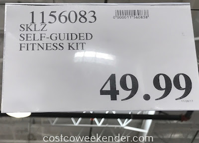 Deal for the SKLZ Self-Guided Fitness Kit at Costco