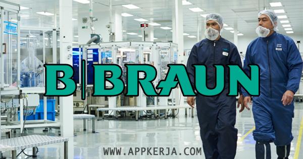 Jawatan Kosong Terkini di B. Braun Medical Industries Sdn Bhd - 15 Jun 2018