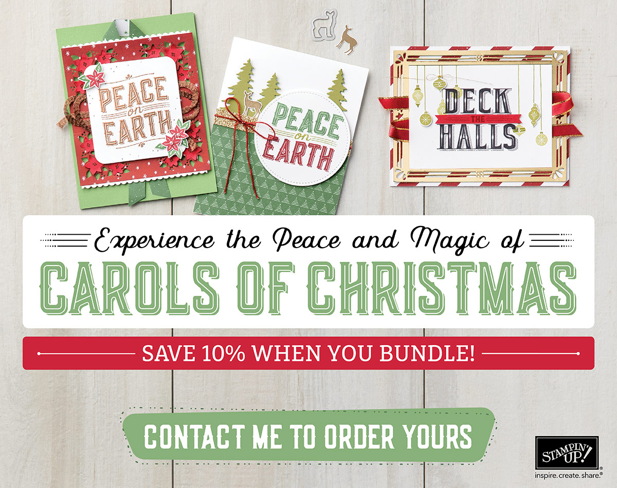 Sootywing Studios: Carols of Christmas Sneak Peek: Stampin\' Up ...