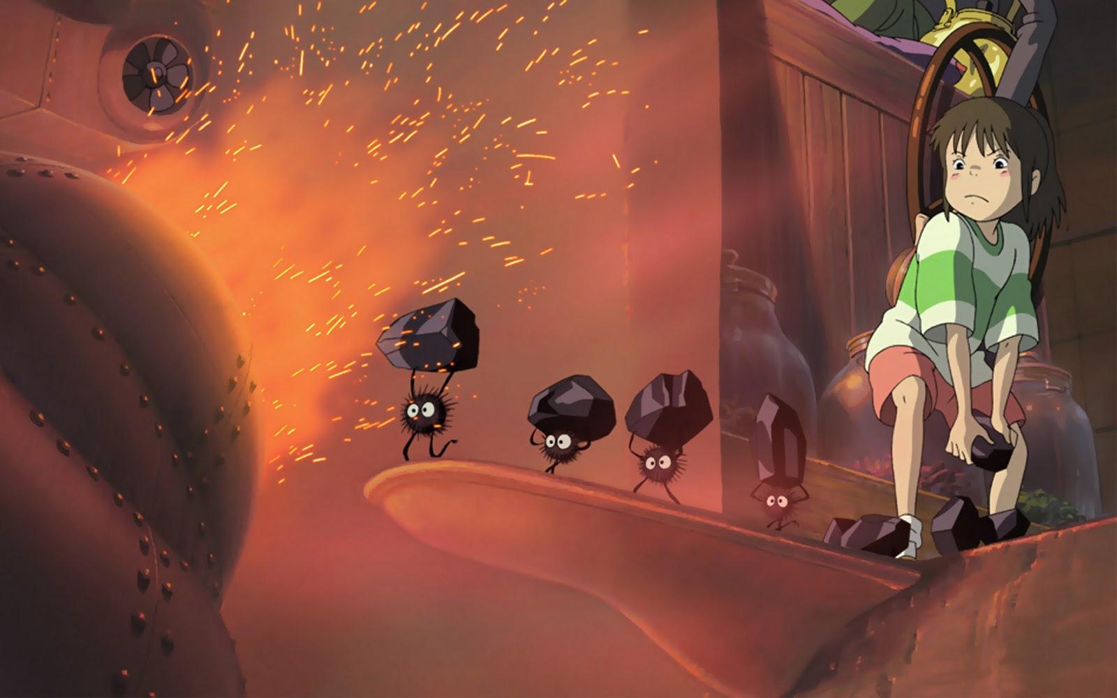 Spiriting Away Animation Poster HD Wallpapers ~ Cartoon Wallpapers