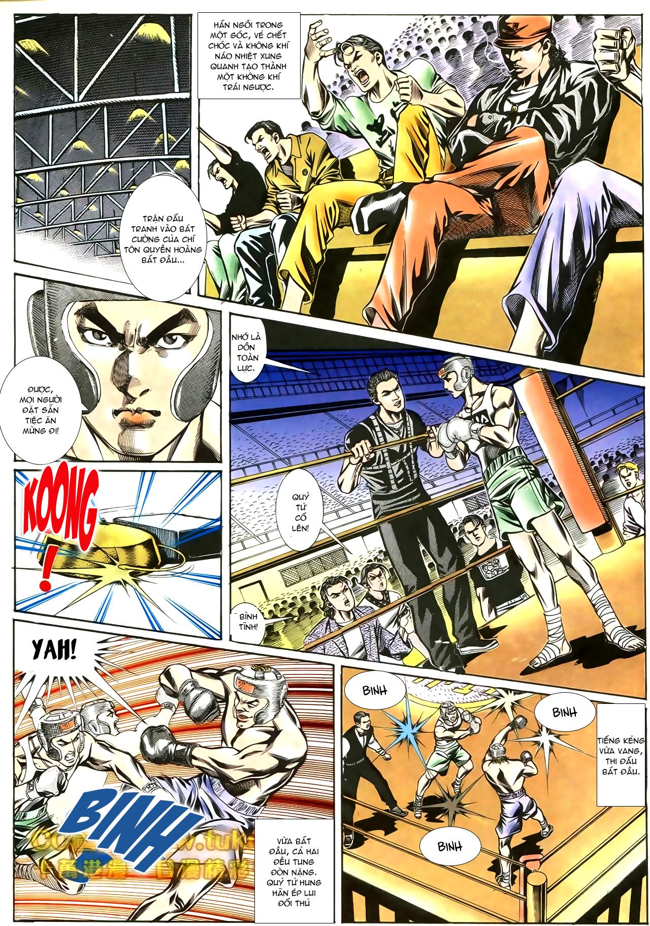 Người Trong Giang Hồ chapter 188: chiến nô trang 8