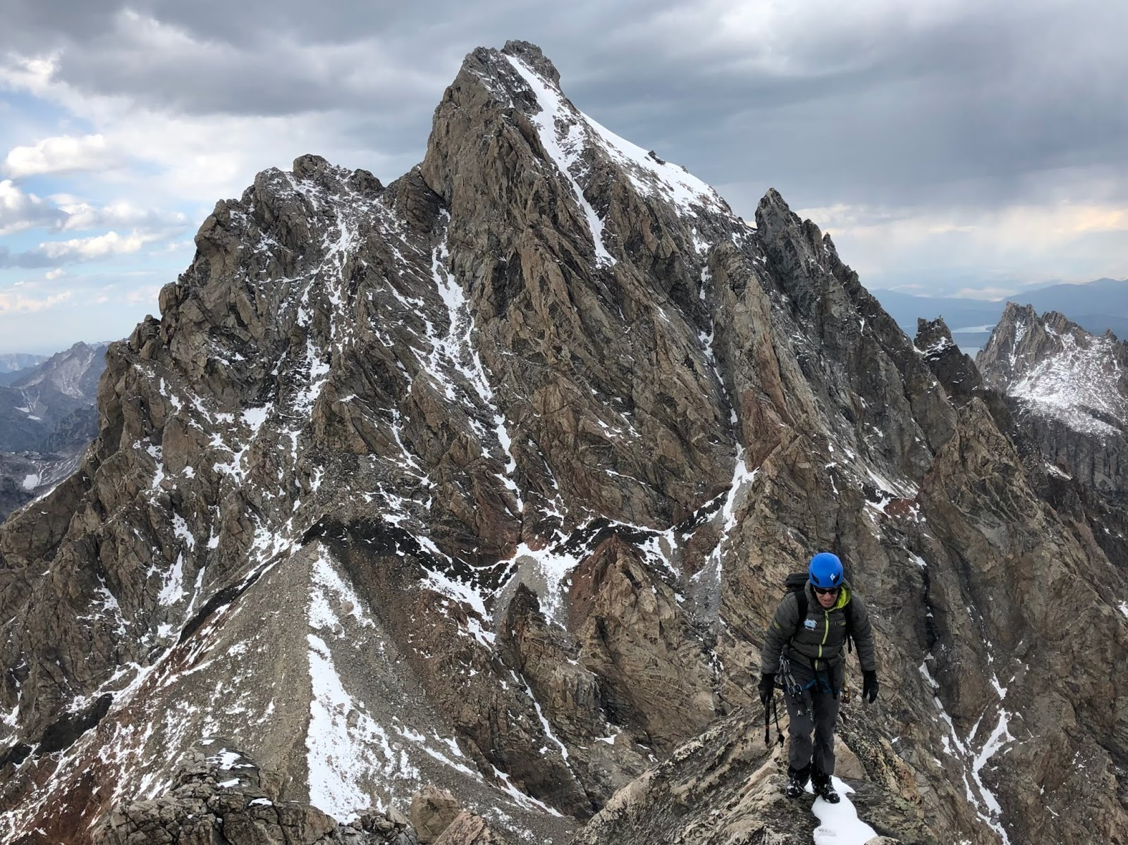 Climbing The Grand Teton with Exum Guides   Wes Chapmans Blog