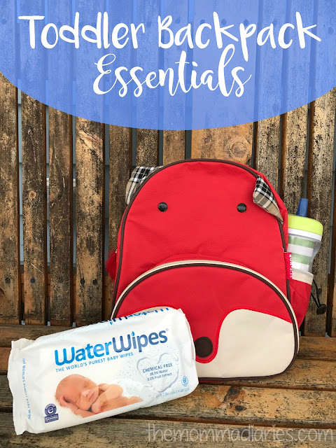 Toddler Backpack Essentials, top 5 backpack essentials, diaper bag essentials